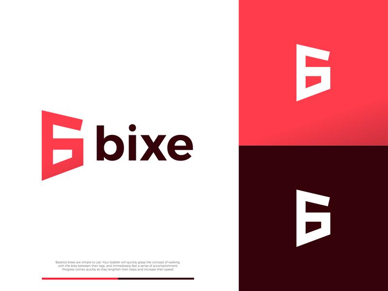 Bixe - Logo Concept illustration logo branding minimal design