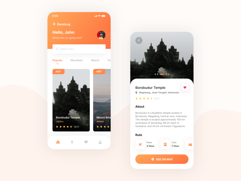 Mobile Exploration - Travel App