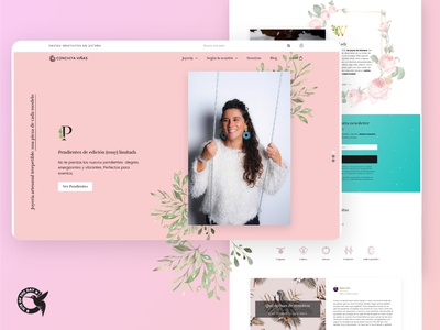 Ecommerce for a divine jewelry brand