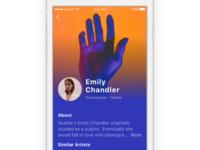 Artist Profile Concept