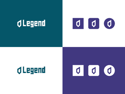 Legend branding brand legend logomark identity logo ui