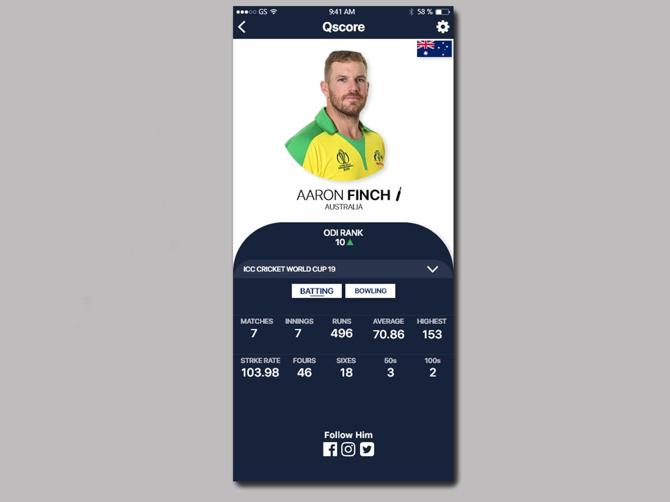 Player Profile Ui app ux  ui design adobexd ux xd app design uiuxdesign user interface ux design ui design ui