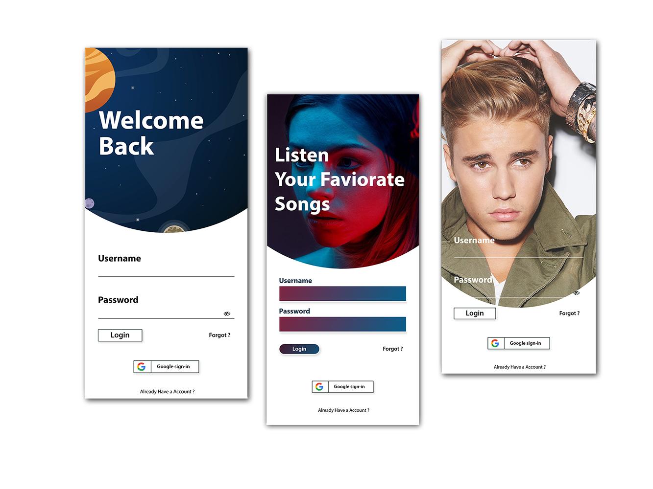 Login Screen ui mobile app ios ios app ui  ux ux  ui uidesign app appdesign ux design ui adobexd app design user interface uiuxdesign ui design