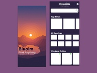 bluoim High-fidelity Wireframe