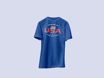 USA 🇺🇸 Shirt mockup design