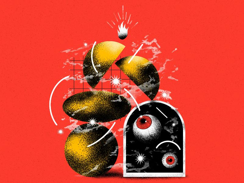 La Roma design poster illustration