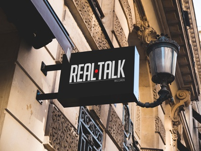 Real Talk Records music records realtalk talk real russia vector style nordblaze mind logo inside design creative corporate commercial building build branding brand