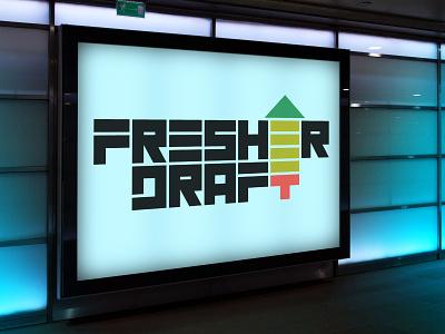 Fresher Draft fresher saint petersburg trap rap music hip-hop russia baltic europe style nordblaze mind logo inside design creative corporate commercial branding brand