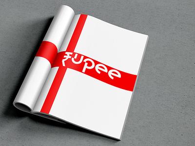 DJ Rupee idendity rupee dj music england great britan uk europe style nordblaze mind logo inside design creative corporate commercial branding brand