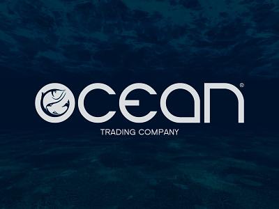Ocean fish ocean typography illustration build baltija baltic europe style nordblaze mind logo inside design creative corporate commercial branding brand