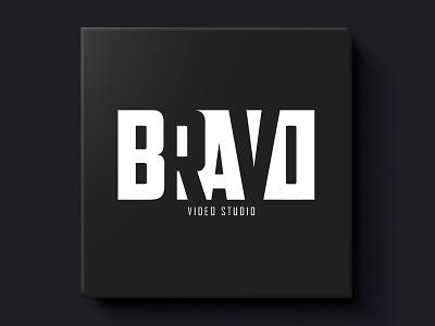 Bravo Video Studio illustrator photoshop action camera bravo studio video build vector style nordblaze mind logo inside design creative corporate commercial branding brand