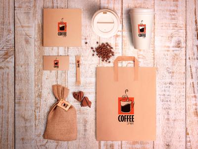 Coffee Spot identity coffee bean cafe spot coffee baltija vector baltic europe style nordblaze mind logo inside design creative corporate commercial branding brand