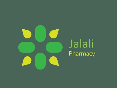 Jalali pharmacy logo design logotype color visual graphicdesign graphic logodesign logo