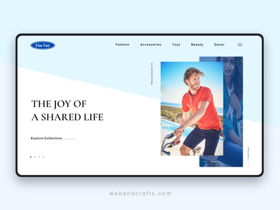 Website banner animation design animation ui ux