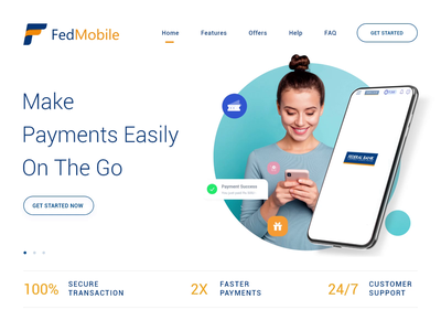 Banking App minimal app ui ux
