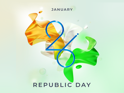 Republic day design illustration