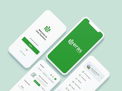 Teacher's Job Portal app branding ux