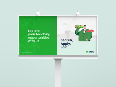 Job Board illustration - Eras Teachers icon vector typography logo ui branding design illustration