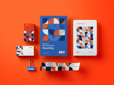 DBS Stationary branding