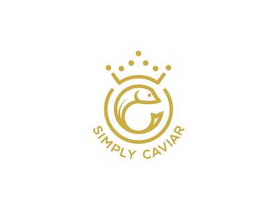 Caviar logo branding logo design typography