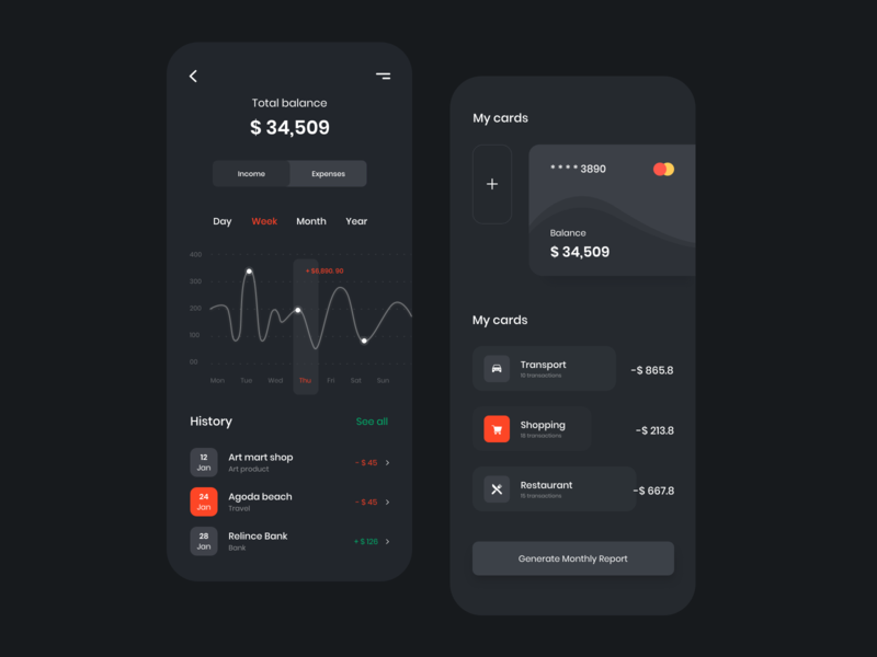 Credit card / Payment App icon app ui ux