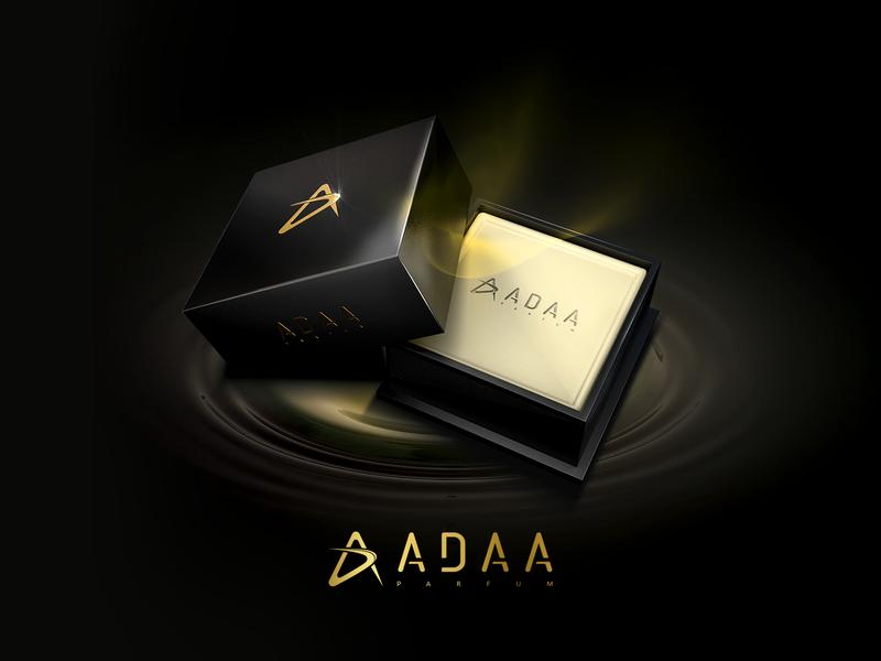 Luxury fragrance logo icon typography logo branding