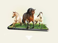 """""""horsin' around"""" for Fertili"""