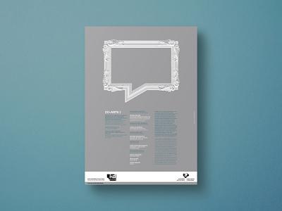 Su+Arte I - Poster spain comic bubble frame art illustration poster a day poster art poster designer poster design poster print print design conceptual design design graphic graphic design