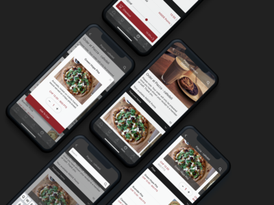 Inside LAAX - Gastro Mobile Ordering Screens