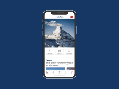 Say hello to the Matterhorn App!