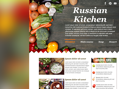 Russian kitchen site by gregory avoyan