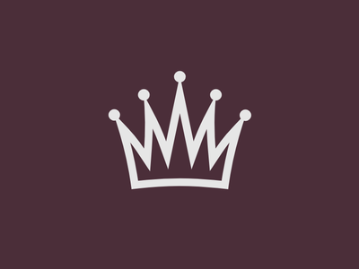 logo with crown