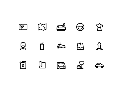 Windows 10 style icons