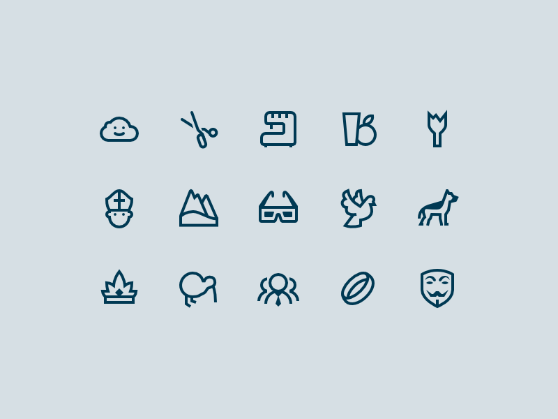 More Windows 10 Icons by Gregory Avoyan for Icons8 on Dribbble
