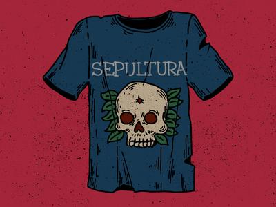 First tee-shirt