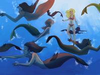 Mermaids down under