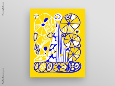 21 October 2020 yellow adobe fresco poster design graphic design illustration abstract illustration abstract doodles posterdesign poster