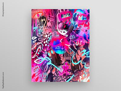 31 October 2020 adobe illustrator procreate dailycreation poster designer posters poster design poster abstract illustration abstract doodles doodle illustration