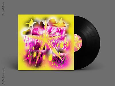 03 November 2020 neon fluorescent graphic design illustration abstract illustration abstract spraypaint album artwork design album artwork album art album cover design album cover