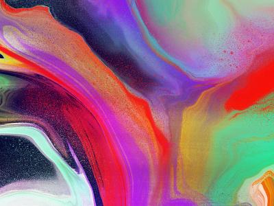 Space Jam (closeup) ipadproart ipadart ipad procreate painting marbling illustrator digital pour digital painting digital marbling art