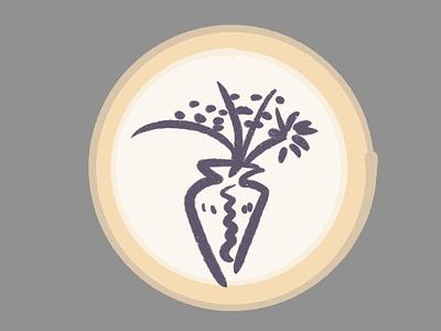 Picasso's Flower - Sticker Design brush drawing paint sketch justforfun stickermule sticker illustration
