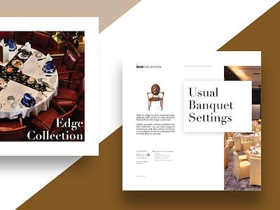 #3 Furniture Catalog print publication design branding graphic  design serif font elegance classic design catalog