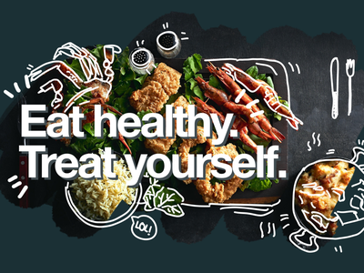 #7 Eat healthy campaign poster concept advertising branding visual communication photography illustration