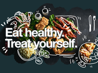 #7 Eat healthy campaign poster concept