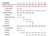 #8 Project Gantt Chart
