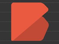 Polygonal typeface