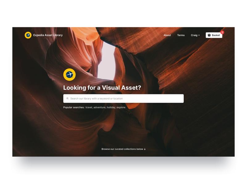 👀 web design homepage landing page website web desktop search box search bar search