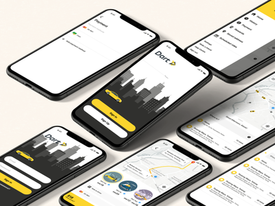 Ride-Hailing App app  design ui iphonex ux ride rideshare booking uber app design ui ux user figma