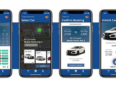 Tribe Car app  design app iphonex ui ux user ux design ux ui car booking car app clean map figma design