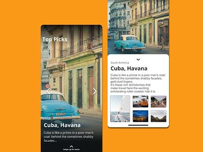 Travel App app planning tour adventure app  design travel app ux ui invision design